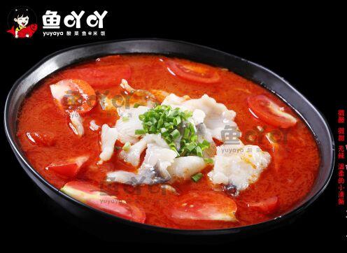 鱼吖吖酸菜鱼米饭,工艺特别