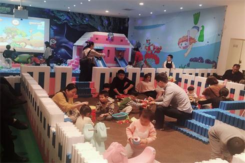 谁有在镇上开儿童乐园 大帝鹅儿童乐园投资要多少钱